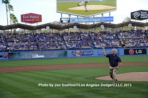 SAN DIEGO PADRES AT LOS ANGELES DODGERS