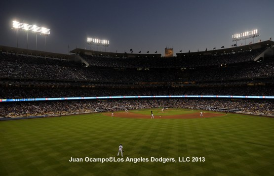 ST. LOUIS CADRDINALS AT LOS ANGELES DODGERS