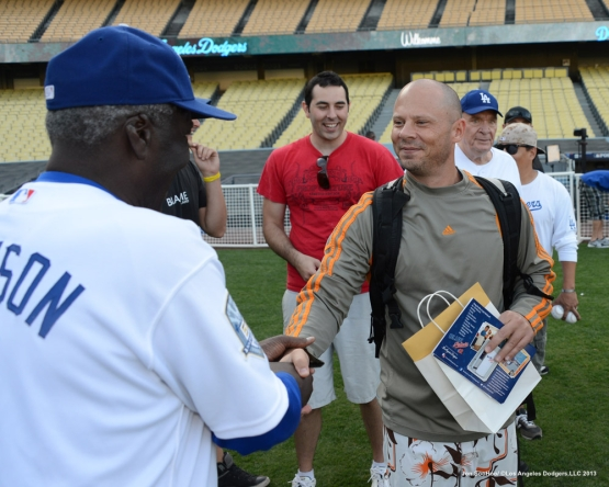 Los Angeles Dodgers host Veterans during Veterans Day