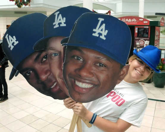 LOS ANGELES DODGERS MALL TOUR