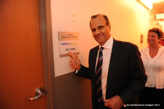 "Dodgers Sandy Koufax and Joe Torre speak at ""Safe at Home"" event"
