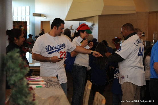 LA DODGERS HOLIDAY PARTY