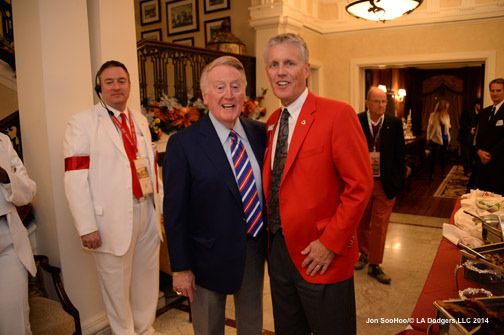 Los Angeles Dodgers Vin Scully is Grand Marshall of the Rose Parade