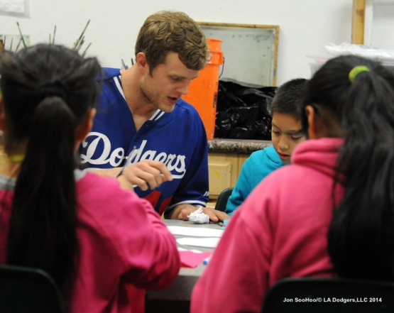 Los Angeles Dodgers Winter Development at a Place Called Home