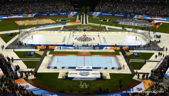 STADIUM SERIES-LOS ANGELES KINGS VS ANAHEIM DUCKS