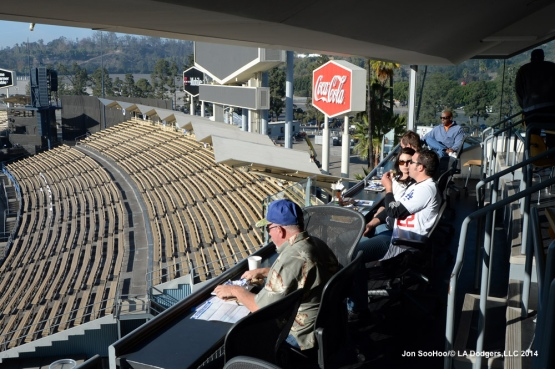 DODGERS SELECT A SEAT