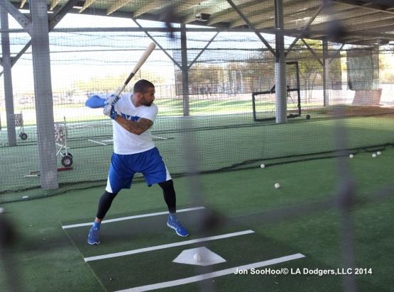 Los Angeles Dodgers workout at Camelback Ranch-Glendale