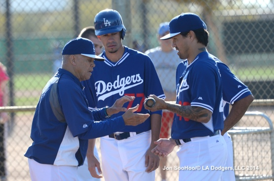 Los Angeles Dodgers workout at Camelback Ranch-Glendale