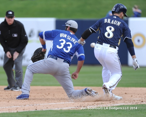 Los Angeles Dodgers @ Milwaukee Brewers