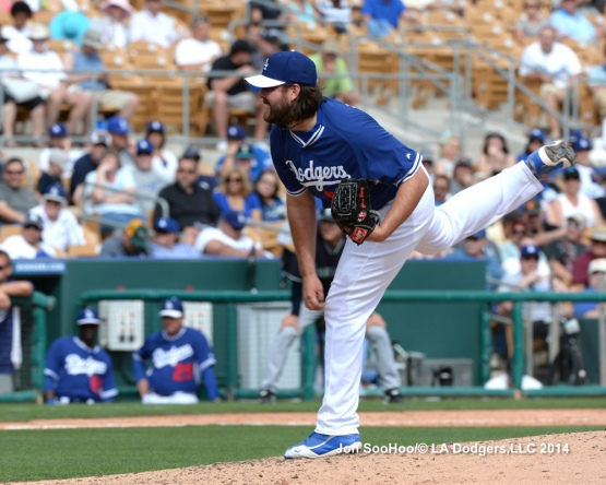 SEATTLE MARINERS AT LOS ANGELES DODGERS