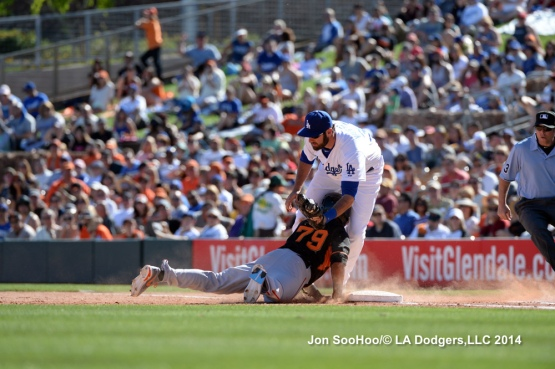 San Francisco Giants vs Los Angeles Dodgers