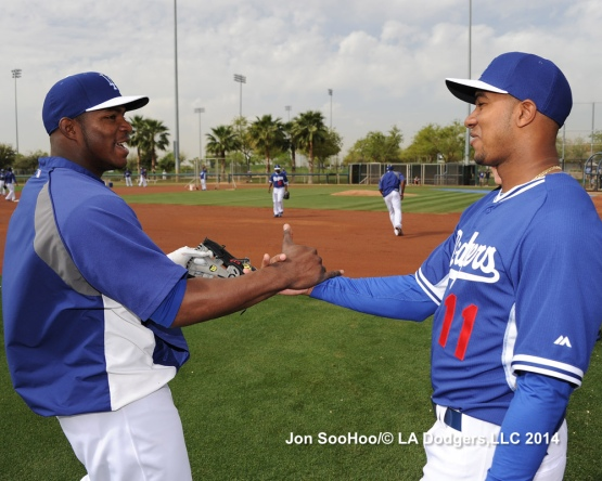 Los Angeles Dodgers Erisbel Arruebarrena