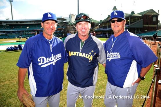 Los Angeles Dodgers vs Australia
