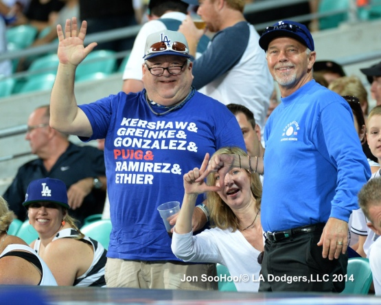 Los Angeles Dodgers vs Australia