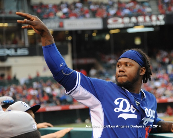 LOS ANGELES DODGERS VS  LOS ANGELES ANGELS OF ANAHEIM