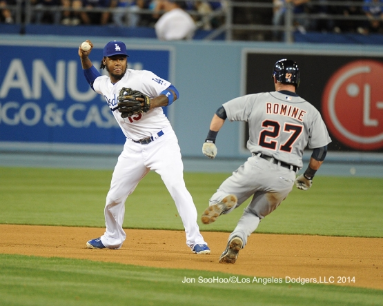 DETROIT TIGERS VS LOS ANGELES DODGERS