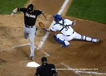 MIAMI MARLINS VS LOS ANGELES DODGERS