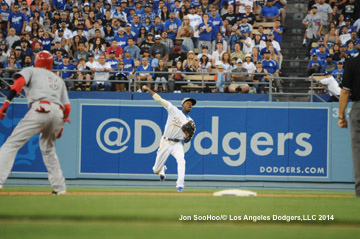 CINCINNATI REDS VS LOS ANGELES DODGERS