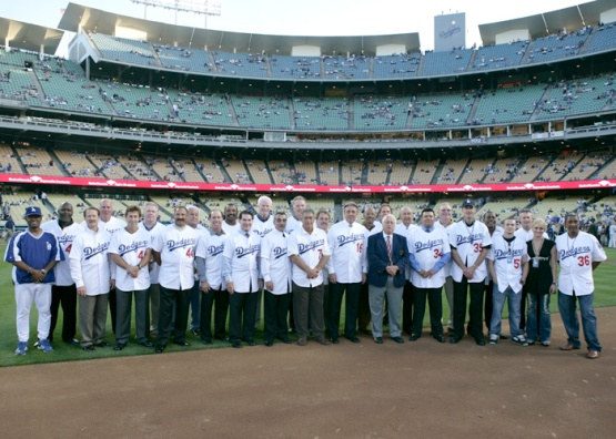 LOS ANGELES DODGERS 25TH ANNIVERSARY CELEBRATION