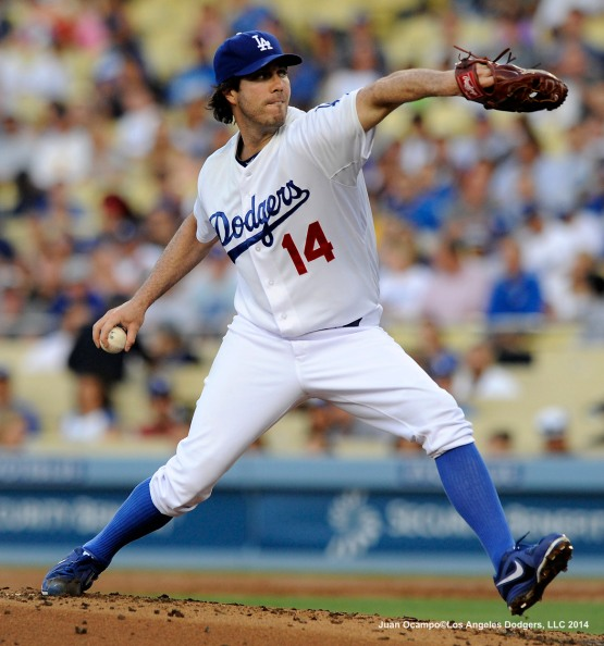 LOS ANGELES DODGERS V CLEVELAND INDIANS