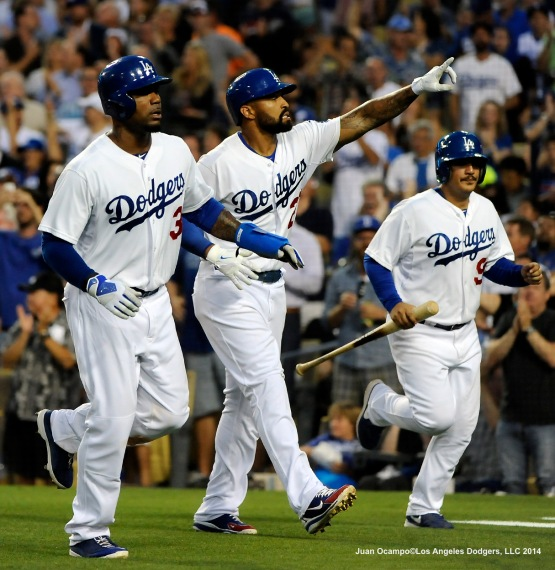 LOS ANGELES DODGERS V ATLANTA BRAVES