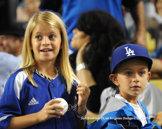 NEW YORK METS AT LOS ANGELES DODGERS