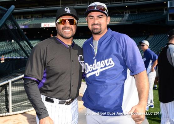 Los Angeles Dodgers at Colorado Rockies