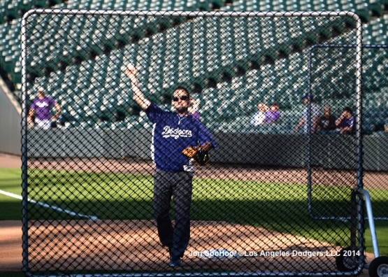 Los Angeles Dodgers at Colorado Rockies