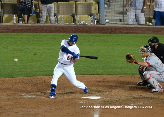 WASHINGTON NATIONALS AT LOS ANGELES DODGERS