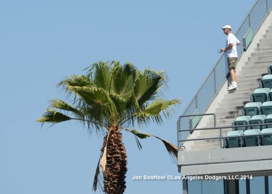 WASHINGTON NATIONALS AT LOS ANGELES DODGERS