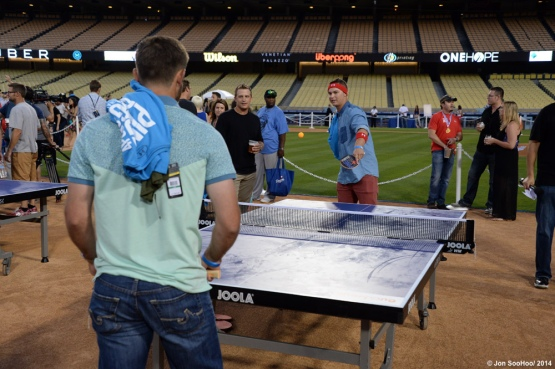Clayton Kershaw hosts Kershaw's Challenge Ping Pong Tournament