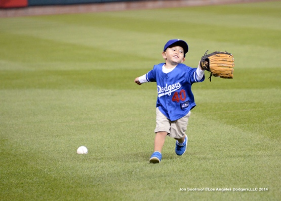 NLDS-Los Angeles Dodgers workout at Busch Stadium