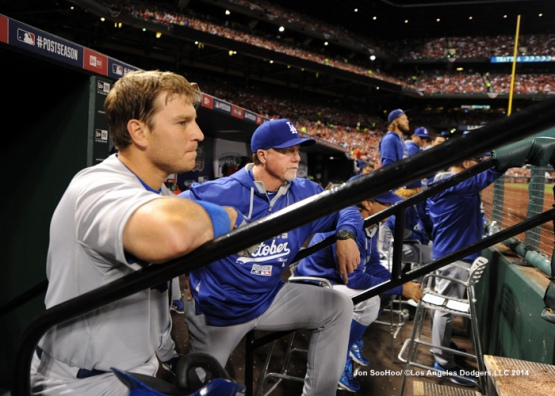 NLDS-Game Three-Los Angeles Dodgers against the St.Louis Cardinals