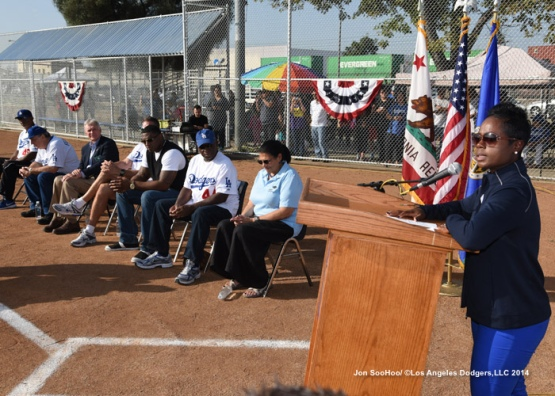 Los Angeles Dodgers Foundation Dream Field Dedication