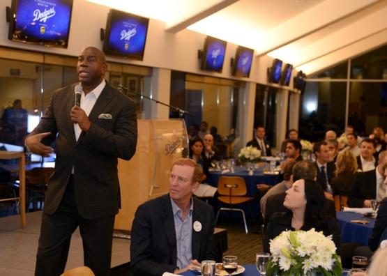 Los Angeles Dodgers/UPS Sponsor Event
