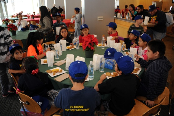 Los Angeles Dodgers Children's Holiday party