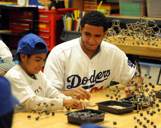 Los Angeles Dodgers Caravan at Inner-City Arts