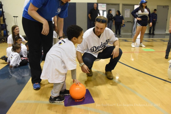 Los Angeles Dodgers Caravan at Special Olympics Southern California