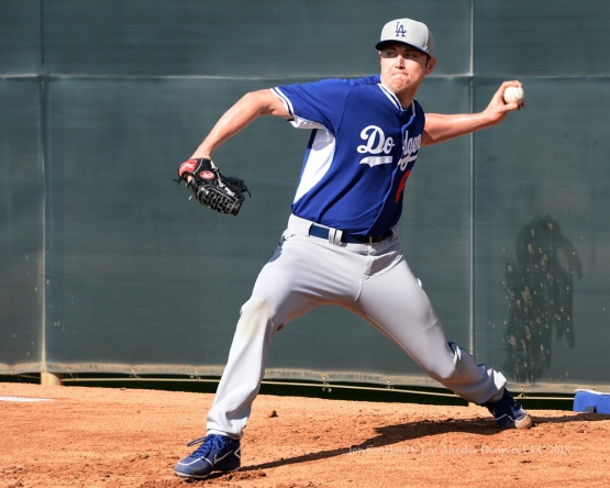 Los Angeles Dodgers workout