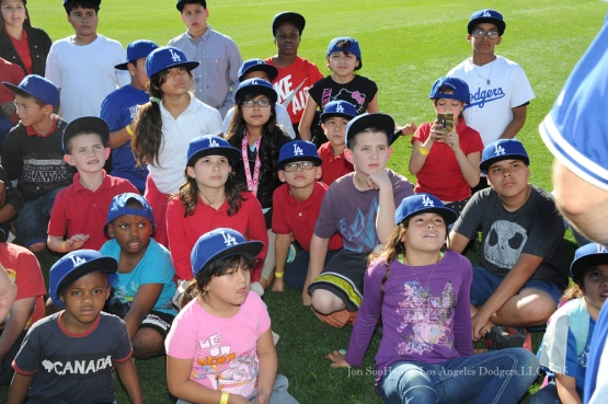 Los Angeles Dodgers clinic