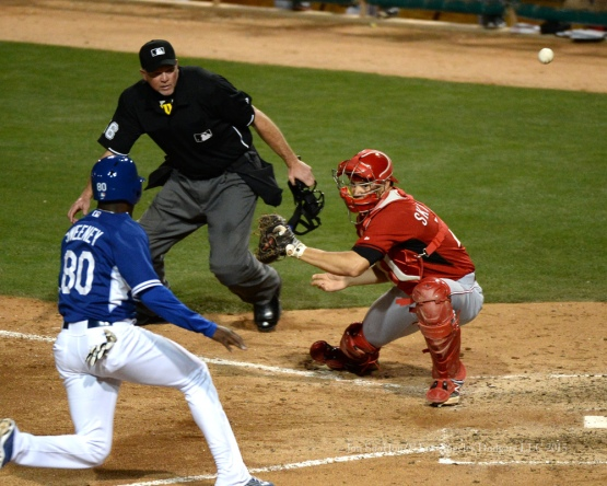 Los Angeles Dodgers vs the Cincinnati Reds