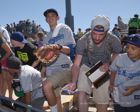 Los Angeles Dodgers at the Seattle Mariners