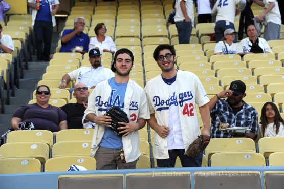 Civil Rights Game--Los Angeles Dodgers vs Seattle Mariners