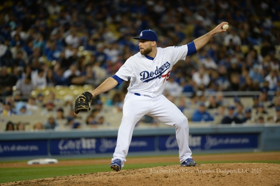 Los Angeles Dodgers vs Miami Marlins Tuesday, May 12, 2015 at Dodger Stadium in Los Angeles,California.  Photo by Jon SooHoo/©Los Angeles Dodgers,LLC 2015