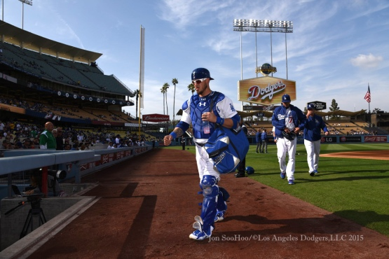 Los Angeles Dodgers vs Miami Marlins Wednesday, May 13, 2015 at Dodger Stadium in Los Angeles,California.  Photo by Jon SooHoo/©Los Angeles Dodgers,LLC 2015