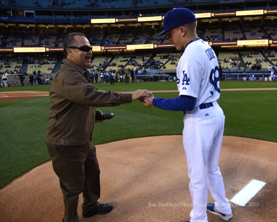 Los Angeles Dodgers vs Colorado Rockies Thursday, May 14, 2015 at Dodger Stadium in Los Angeles,California.  Photo by Jon SooHoo/©Los Angeles Dodgers,LLC 2015