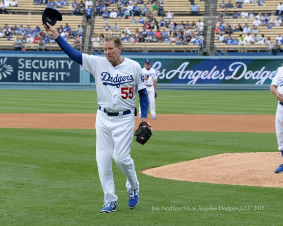 Oldtimers Day Luncheon prior to the Los Angeles Dodgers vs Colorado Rockies game Saturday, May 16, 2015 at Dodger Stadium in Los Angeles,California.  Photo by Jon SooHoo/©Los Angeles Dodgers,LLC 2015