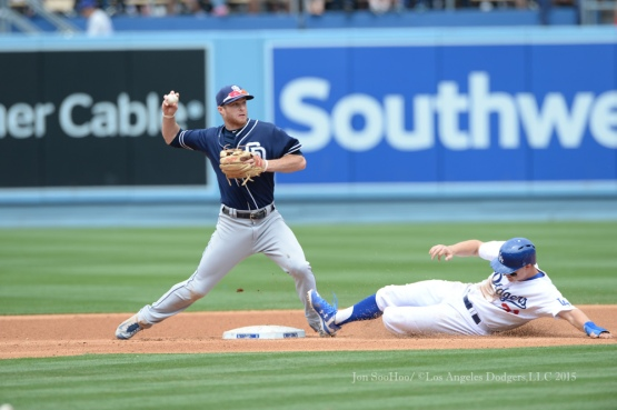 Los Angeles Dodgers vs San Diego Padres Sunday, May 24, 2015 at Dodger Stadium in Los Angeles,California. Photo by Jon SooHoo/©Los Angeles Dodgers,LLC 2015