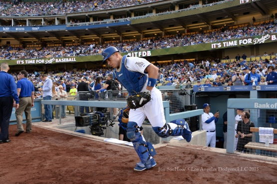 Los Angeles Dodgers vs Atlanta Braves  Monday, May 25, 2015 at Dodger Stadium in Los Angeles,California. The Dodgers beat the Braves 6-3. Photo by Jon SooHoo/©Los Angeles Dodgers,LLC 2015