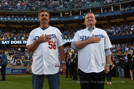 Los Angeles Dodgers vs Atlanta Braves Wednesday, May 27, 2015 at Dodger Stadium in Los Angeles,California. The Braves beat the Dodgers 3-2. Photo by Jon SooHoo/©Los Angeles Dodgers,LLC 2015